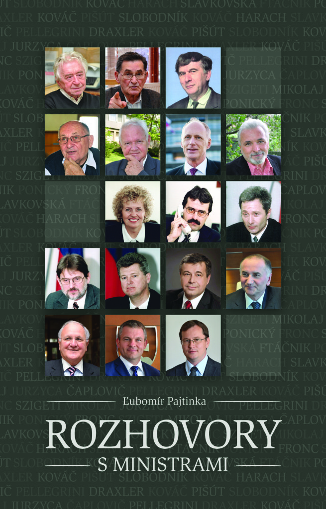 Rozhovory s ministrami − knižný unikát